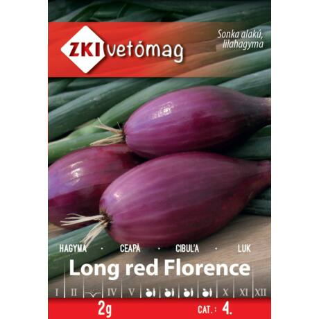 Hagyma Long red Florence 2g