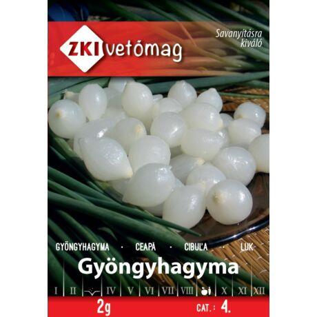 Hagyma Gyöngy Fertődi ezüstfehér 2g