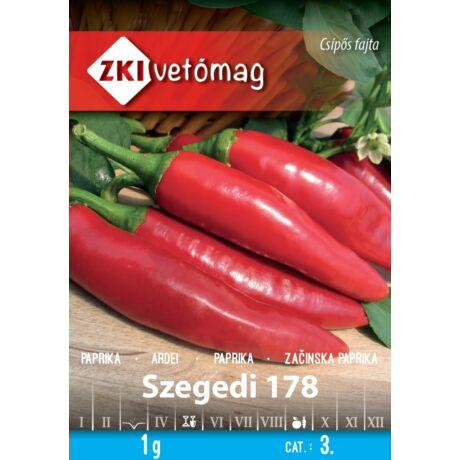 Paprika fűszer Szegedi-178 1g