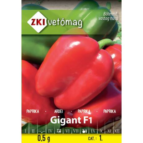 Paprika Gigant F1 0,5g