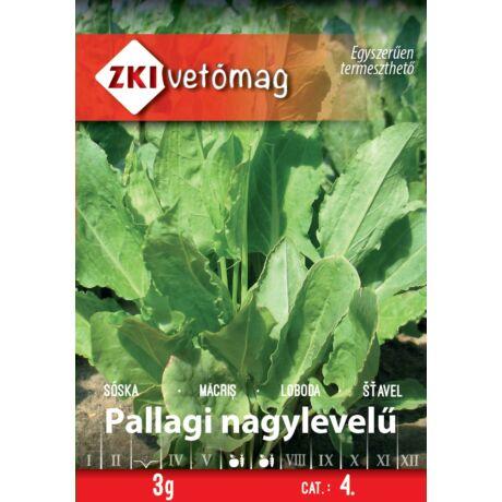 Z Sóska Pallagi nagylevelű 3g