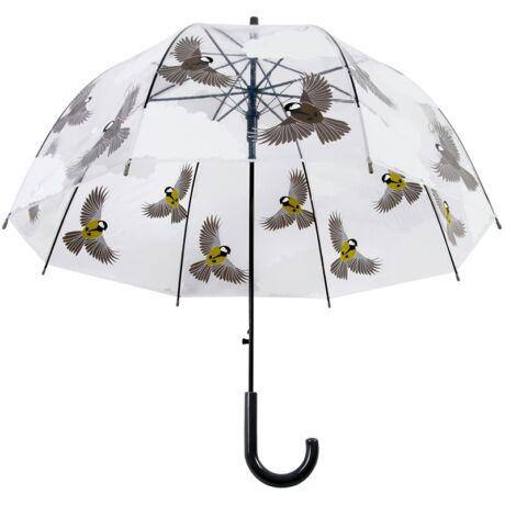 I TP274 átlátszó esernyő cinege