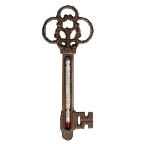 I TH63 hőmérő, kulcs minta, öntöttvas