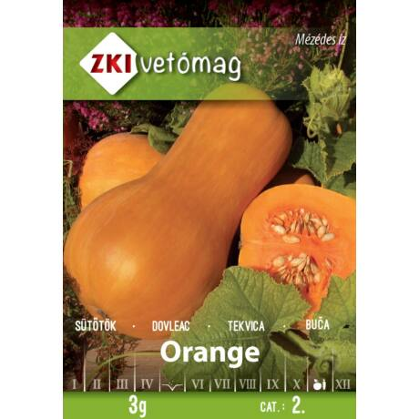 Sütőtök Orange 3g
