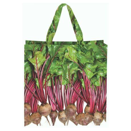 I TP276-C Zöldség mintás táska, cékla