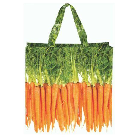 I TP276-D Zöldség mintás táska, répa