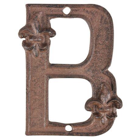 I DB62-B betü, öntöttvas-B