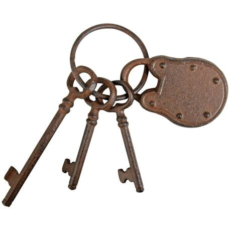 I DB64 Kulcskarika lakattal dekor, öntöttvas