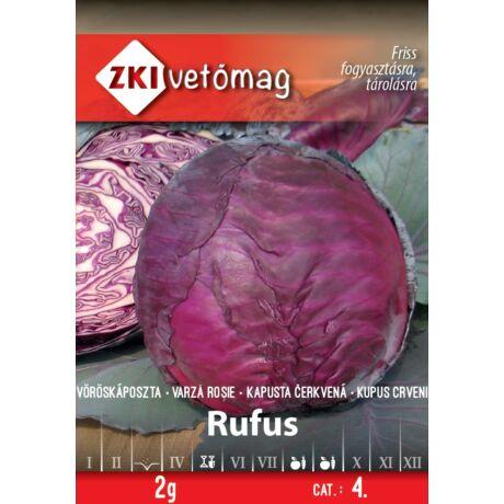 Vöröskáposzta Rufus 2g