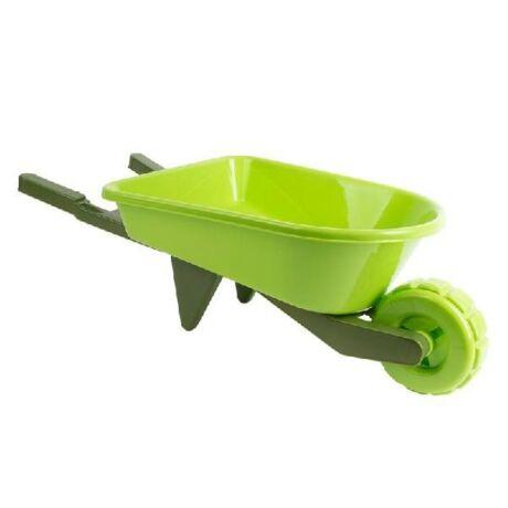 I KG215 Műanyag gyerek talicska, zöld