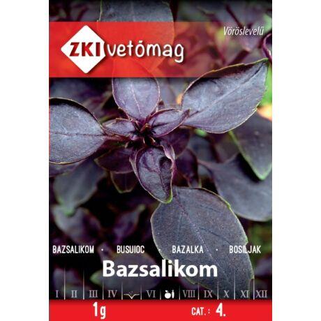 Fűszernövény Bazsalikom Vörös 1g