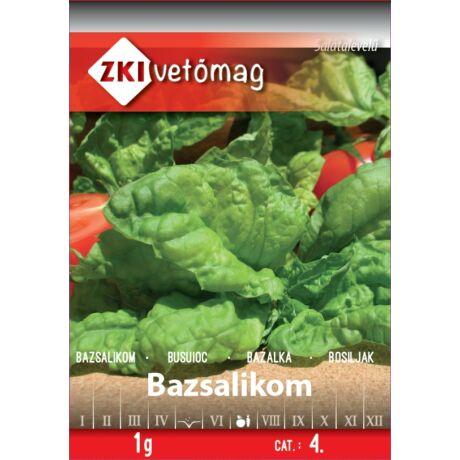 Fűszernövény Bazsalikom Salátalevelű 1g